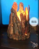 Pine lamp