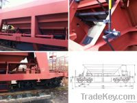 Four-Axis Self-Discharging Freight Wagon