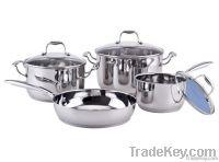 7Pcs Stainless steel cookware set SHXM1006CS