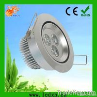 CE&Rohs square 3w dimmable downlight led