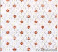 transparent printed pvc tablecloth