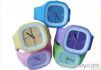 2012 Fashional Silicone Jelly Sports Watch Water Resistant with CE and