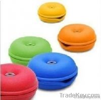 2013 durable & colorful silicone cable winder earphone turtle twister