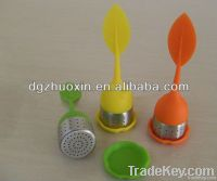 silicone and S.steel 304L tea ball tea tool tea infuser