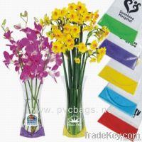 pvc plastic flower vase