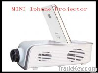 MINI 640*240 PORTABLE projector for iphone4, 4s &ipod