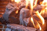 Hard Wood Stick Black Charcoal / Oak Charcoal - High Quality