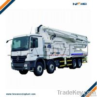 Concrete Pump Boom Truck (ISO Approved)