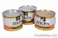 tin cans for canned food