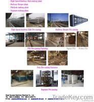 concrete pre-casting equipment