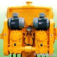 Twin Shafts Concrete Mixer