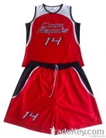 2013 Custom basketball jersey and short