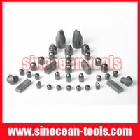 carbide mining button bits and tools