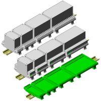 Universal Din Rail Enclosures / PCB Holders