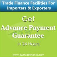 Avail Advance Payment Guarantee for Importers and Exporters