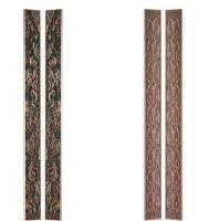 European antique brass door handles