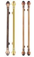 European Classic brass door handle