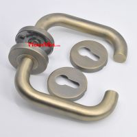 Wholesale High-end stainless steel american style internal lever fireproof door handle