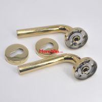 Polished Gold Golden PVD door window handle