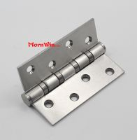 sus304/201/316 customized precision ball bearings door gate shower kitchen furniture stainless steel heavy duty hinge
