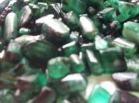 Rough Emerald for Cabochon and Faceting