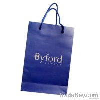 simple paper shopping , promotional bag in kraft , white cardboard