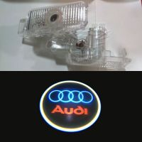 LED Car Door Led Welcome Laser Projector Logo Ghost Shadow Light For Audi