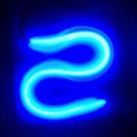 60CM Switchback Blue LED Flexible Strip DRL