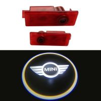Car LED Door Light with Logo For Bmw Mini  no drill plug and play