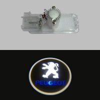 LED Door courtesy Shadow Projector Car logo Light for Peugeot 508 408 308