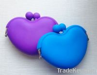 Silicone wallet, coins purse, glasses case