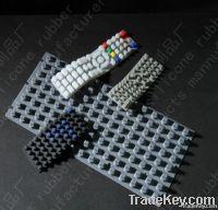 Silicone keypad, conductive button