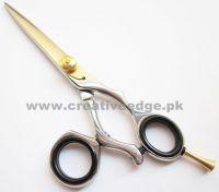 Hairdressing Hair Cutting Scissors Swivel Ring Barber Shears 6''