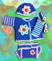 Crochet apparel for kids and ladies