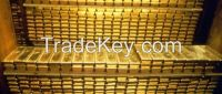 GOLD NUGGETS AND GOLD BARS