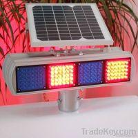 solar warning flashing light
