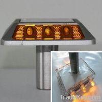 Super capacitor solar road stud , super brightness led light