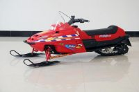125cc Snowmobile (red)