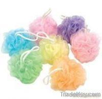 Bath flower ball