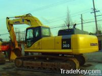 sell used komatsu pc360-7 excavator