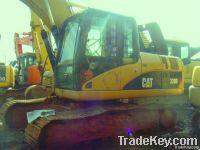 used CAT 320D excavator