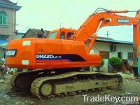 sell used Doosan DH220LC-7 Excavator
