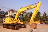 used komatsu PC160 excavator