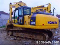used komatsu PC200-8 excavator