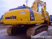 used komatsu PC210-8 excavator