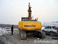 used komatsu PC240LC-7 excavator