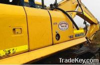 used komatsu PC350LC-7 excavator