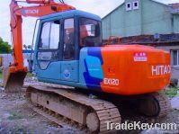 used HITACHI EX120-3 excavator