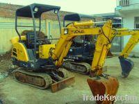 used YUCHAI YC13-8 excavator