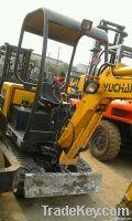 used YUCHAI YC13-6 excavator